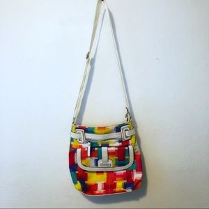 Tyler Rodan | Multi-Color Abstract Crossbody Bag